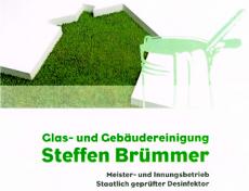 Logo der Firma Glas- und Gebäudereinigung Brümmer, Oederan