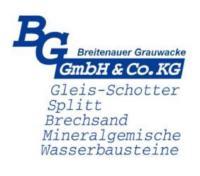 Logo der Breitenauer Grauwacke GmbH  Co. KG