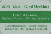 Logo der Firma Stihl-Dienst Gerd Herklotz, Oederan