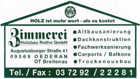 Logo der Firma Zimmerei Rothe